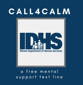 Call4Calm Free Anonymous Mental Health & Resources (Unemployment, Food, Shelter) Text and Talk Support Line