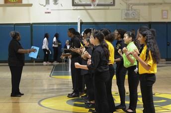 Ms. Foster & Concert Chorus