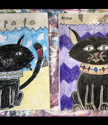 Egyptian Cats!