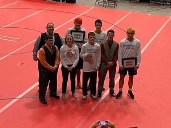 Boys state wrestling 4th as a team!