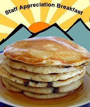 Volunteers Needed for Staff Appreciation Breakfast