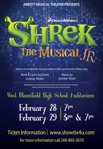 "Abbott MS presents ""Shrek Jr."""