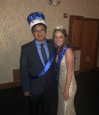 Prom Royalty - Mackenzie Ashby & Daniel Yang
