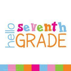 7th Grade Info