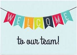 Welcome New Staff!