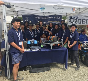 "Rookie ""Team Inspiration"" Wins Awards at Local Robotics Competition"