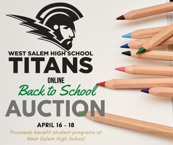 Titan Back To School Online Auction -  THIS WEEKEND