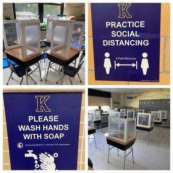 Distancing and Handwashing