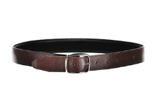 Black/Brown Leather Belt