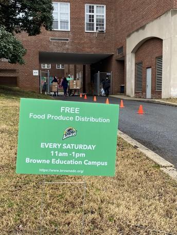 Saturday Produce Distribution