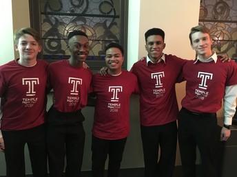 Choir Members Perform at Temple U.
