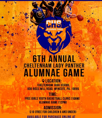 Cheltenham Lady Panther 6th Annual Alumni Game