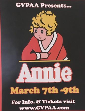 GVPAA Presents Annie