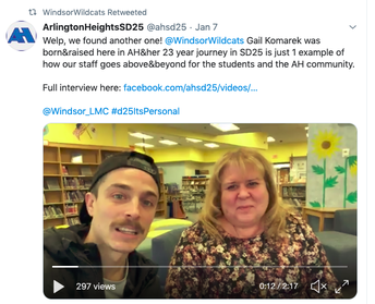 Check out this Interview with Mrs. Komarek!