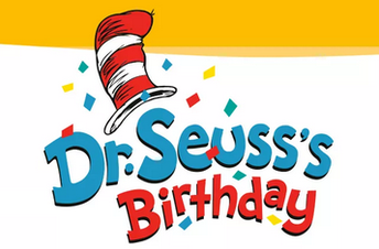 Read Across America Week - Happy Birthday Dr. Seuss!