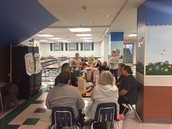 BRAVES Council shares T7H with Cafeteria Staff