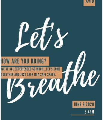 AVID Breathe Event