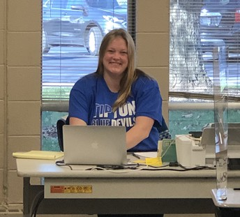 Mrs. Woelfert at Today's PD