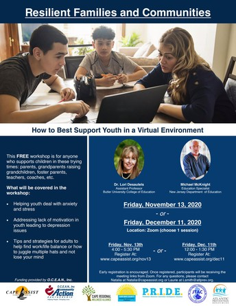 RESILIENT FAMILIES VIRTUAL WORKSHOP