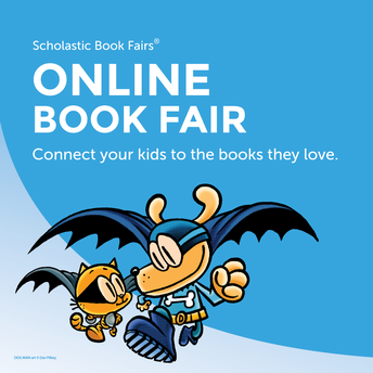 The Virtual Book Fair Will Begin on Monday, February 22nd