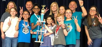 Mott Elementary Wins 2nd Place at PfISD UIL Event