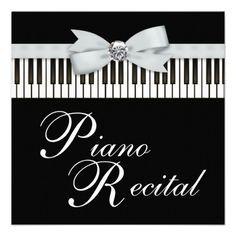 PIANO RECITAL - January 19th