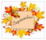 Week of September 14 - 18