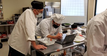 Meeting The COVID Challenge: Chef Bob McIntosh, Culinary & Pastry Arts