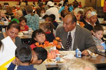 Thursday, Nov. 21st - Thanksgiving Lunch w/ Students