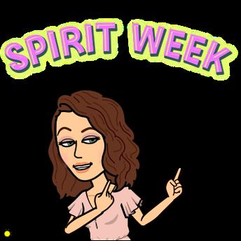 Spirit Week: April 12th-16th