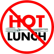 There will be NO Hot Lunch offered on the following days: