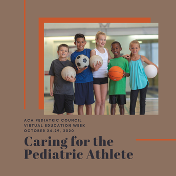Caring for the Pediatric Athlete | Virtual Education Event