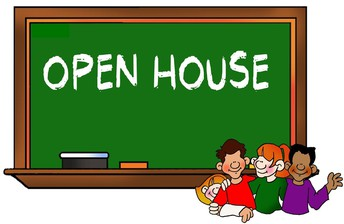 Open House is Tonight 6:00pm - 7:00 pm