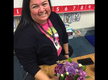 Instructional Support Employee of the Year Marina Leal