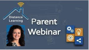 Weekly Parent Webinars