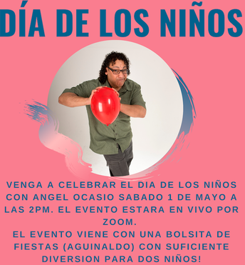 Día de los niños es el 1 de mayo/ Children's Day is May 1st This event will take place at the Tualatin Public Library/Este evento será en la Biblioteca Pública de Tualatin
