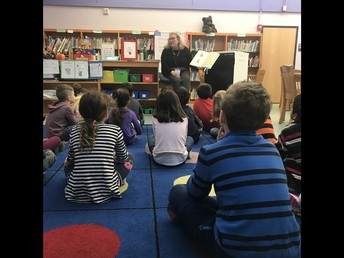 1st Grade Library with Ms. Loof