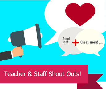 Clairemont Elementary Staff Shout Outs!