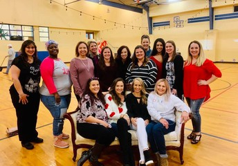 The awesome PTA dance committee