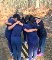 Team huddle to begin the day!