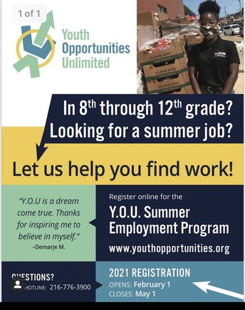 Youth Opportunities Unlimited - Summer Work
