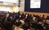 Woody Spring, NASA Astronaut visited Olympian High