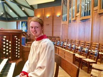 Noah Jacobs' Organ Recital:Friday, May 18, 7:30