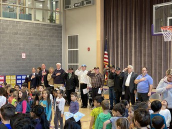 Veterans, Dignitaries, Elected Officials, and Board of Education Members joined us!