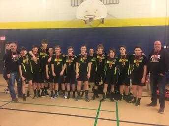 Grade 9 Boys Volleyball Team