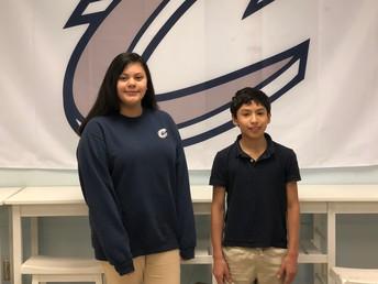 Elysia Chandler and Nathaniel Galvan