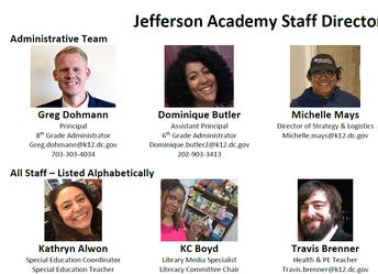 Meet the JA Staff