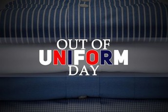 United Way - Out of Uniform Day, Friday October 25, 2019 for $2.00 donation