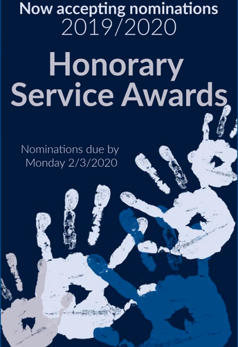 HONORARY SERVICE AWARD NOMINATIONS NOW OPEN!