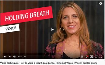 Vocal Technique: Make a Breath Last Longer